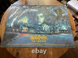Graham Humphreys Nightmare On Elm Street 30x40 Quad Movie Poster Print Mondo