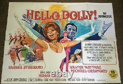 Hello dolly Original Uk Quad Film Poster (1969)