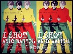 I Shot Andy Warhol LILI Taylor 1996 British Quad Rolled