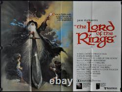 J. R. R. Tolkien's Lord Of The Rings 1978 Orig 30x40 Quad Movie Poster Animation