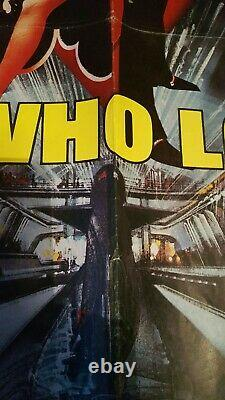 James Bond, The Spy Who Loved Me (1977) Uk British Quad Film Movie Cinema Poster