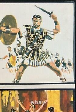 Jason and the Argonauts Original Quad Movie Poster Ray Harryhausen 1963