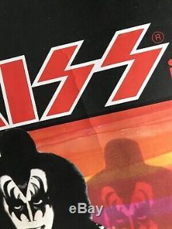 KISS Attack of the Phantoms original UK Quad MOVIE POSTER 40x30 Rare