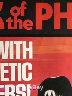 KISS poster Attack of the Phantoms original UK Quad MOVIE POSTER 40x30 Rare
