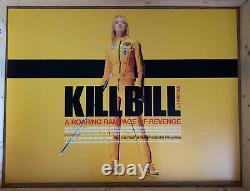Kill Bill Original Movie Quad Poster Uma Thurman, David Carradine, Daryl Hannah