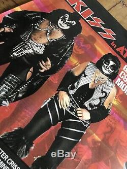 Kiss Attack Of The Phantoms Original Movie Poster Rare UK Quad Rolled 40x 30