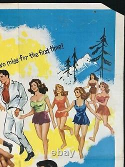 Kissin Cousins Original Quad Movie Poster Elvis Presley 1964