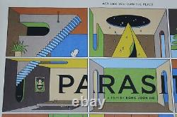 LA BOCA Rare Original UK Realease Parasite Bong Joon-ho Quad Film Movie Poster