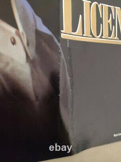 Licence To Kill 1989 Original UK Quad Cinema Movie Poster 007 James Bond