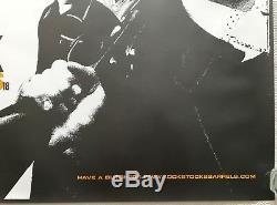 Lock Stock and Two Smoking Barrels Original Movie Quad Poster 1998 Vinnie Jones