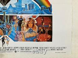 Logan's Run Original Movie Quad Poster 1976 Michael York Jenny Agutter