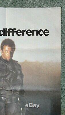 MAD MAX 2 (1981) original UK quad movie poster Mel Gibson Road Warrior