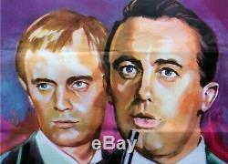 MAN FROM UNCLE U. K. Quad cinema vintage Film poster 1965 James Bond 007