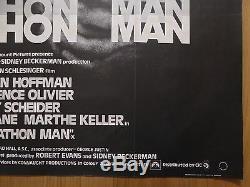 MARATHON MAN (1976) original UK quad film/movie poster, Dustin Hoffman, crime