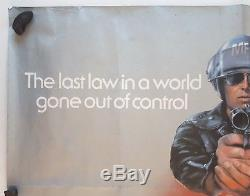 Mad Max, Original 1979 British Quad Film Movie Cinema Poster, Mel Gibson