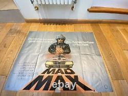 Mad Max Quad Film Poster Original