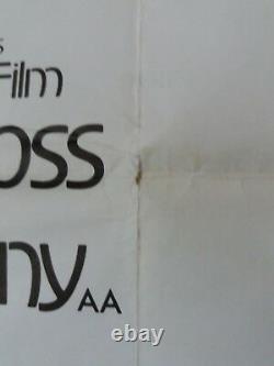 Mahogany Original Uk Quad Film Poster 1975