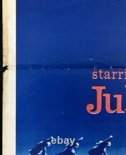 Mary Poppins Original Quad Movie Poster Julie Andrews Walt Disney 1964