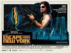 Matt Ferguson John Carpenter 4 Quad 40x30 Posters Escape from New York The Fog