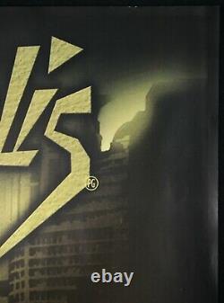 Metropolis Original Quad Movie Poster Fritz Lang 2000s RR