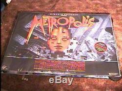 Metropolis Rolled Br Quad Movie Poster R84 Fritz Lang