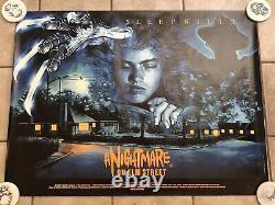 NIGHTMARE ON ELM STREET 1984 Original British quad poster