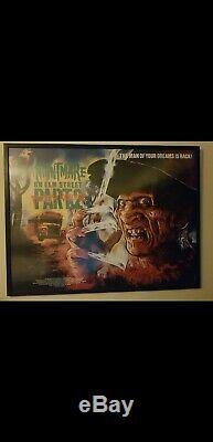 Nightmare on Elm Street Part 2 1985 British Quad Movie Poster folded