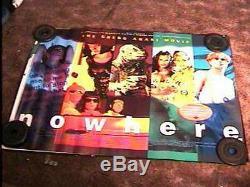 Nowhere Br Quad Movie Poster'97 Gregg Araki Cult