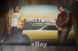 ONCE UPON A TIME IN HOLLYWOOD B 30 x 40 Uk Quad Movie Poster Original 2019