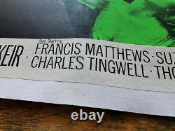 ORIGINAL Hammer DRACULA PRINCE OF DARKNESS UK Quad Film Poster Christopher Lee