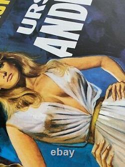One Million Years B. C. / She UK Quad Original LINEN BACKED Film Poster (1968)