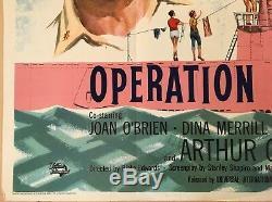 Operation Petticoat Original British Movie Quad Film Poster 1959 Cary Grant
