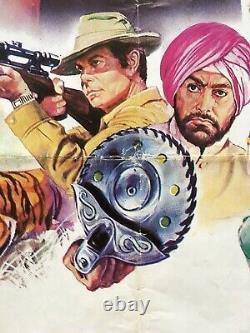 Original 1983 James Bond Octopussy Movie Quad, 007 Roger Moore, Ian Fleming
