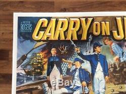 Original Carry On Jack, UK Quad, Film/Movie Poster 1963