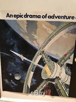 Original MGM 2001 A Space Odyssey (1968) British Quad Film/Movie Poster Style A