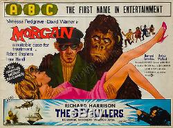 Original Morgan 1966, UK Quad, Film/Movie Poster