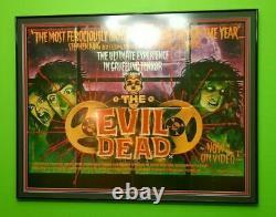 Original Movie Poster The Evil Dead 1982 UK British Quad NM 9 Bruce Campbell