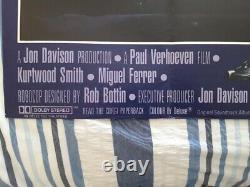 Original UK Quad Cinema / Film Poster Robocop 40 x 30 (1987)