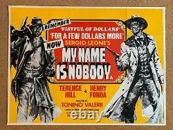 Original Vintage Film Poster My Name Is Nobody Uk Quad 1974