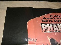 PHANTASM Original 1979 British Quad Movie Poster, 30 x 40, C8 Very Fine