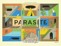 Parasite Movie Quad Poster (La Boca Style)