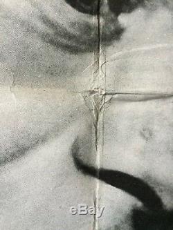 Paris When It Sizzles 1964 UK Quad Movie Poster Audrey Hepburn Original