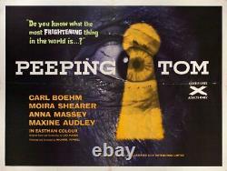 Peeping Tom 1960 British Quad Poster