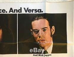 Performance Original British Movie Quad UK Poster 1970 Mick Jagger