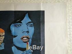 Performance Original British Movie Quad UK Poster 1979 Re Release Mick Jagger