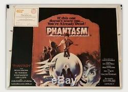 Phantasm UK British Quad Linen Backed (1979) Original Film Poster