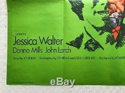 Play Misty For Me Original Movie Quad Poster 1971 Clint Eastwood Jessica Walters