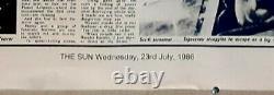 Poster on linen ALIENS 1986 British Quad 30x40 LINENBACKED Sigourney Weaver SUN