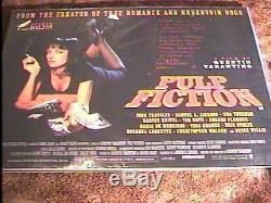 Pulp Fiction Br Quad Movie Poster Tarantino 30x40