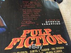 Pulp Fiction UK Quad Original Movie Poster 40x30 Rolled 1994